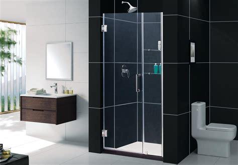 Alternatives To Glass Shower Doors Unidoor W 12 Quot Stationary Glass Shelves