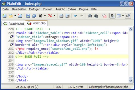 Editor Ahensi plainedit free ansi windows and ascii dos text