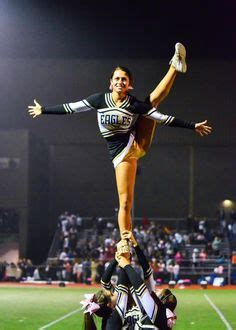friday lights high football sideline cheerleading on varsity cheer friday