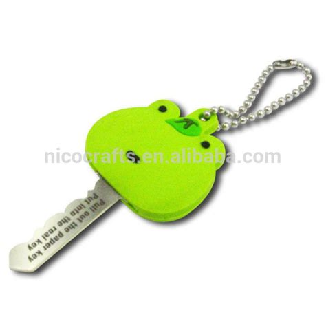 Character Key Cover eco friendly soft pvc character key covers pvc keycovers