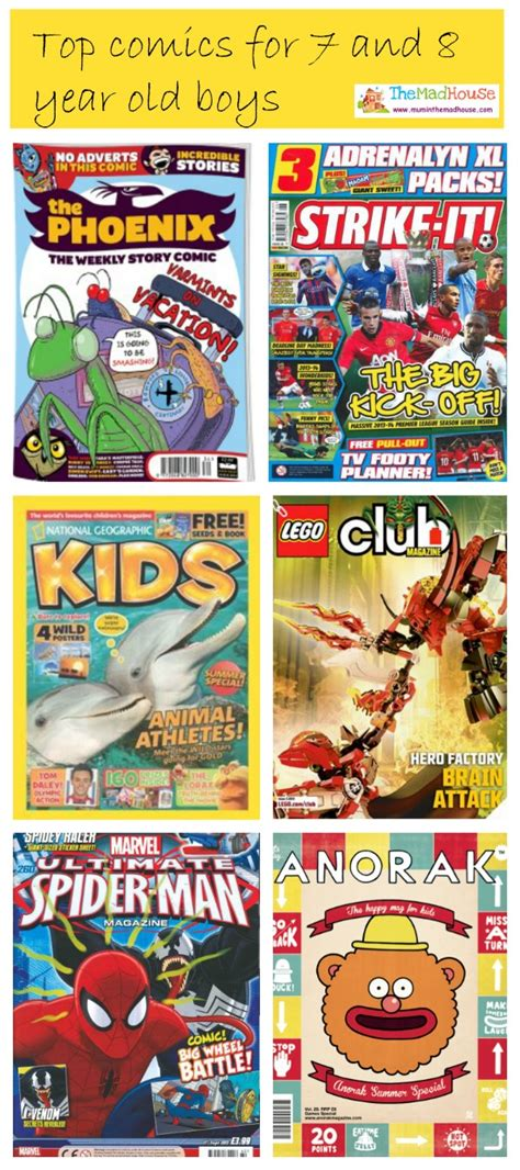 7 Great Magazines For by Top Comics For 7 And 8 Year Boys Tried And Tested By