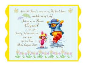 winnie the messages for baby shower card pooh pictures amazing choice bright color