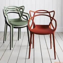 masters fauteuil kartell design en polypropyl 232 ne