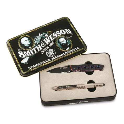 smith wesson and tactical pen smith and wesson extremeops combo tactical pen knife 3