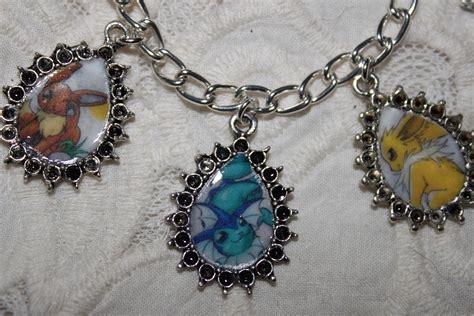 Eevee Evolutions charm bracelet   Eevee Evolutions Clan Fan Art (31284181)   Fanpop