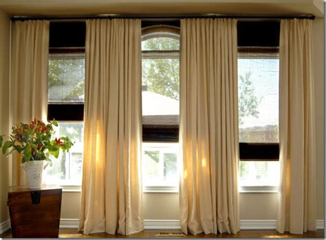 curtains for 3 windows in a row curtain ideas for three windows in a row curtain