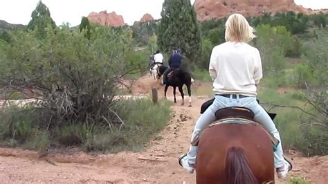 Garden Of The Gods Horseback by Horseback Garden Of The Gods