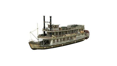 Navi 9053 Original 3d model boat steamboat