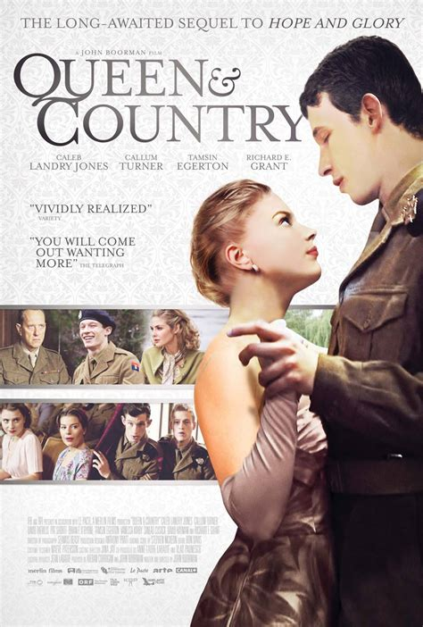 Film Queen Country | queen and country 2015 poster 1 trailer addict