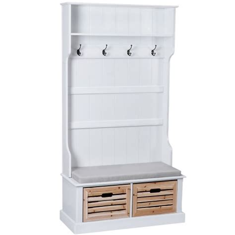 Shoe And Jacket Cabinet by Cottage Style Wardrobe Coat Hanger And Shoe Storage