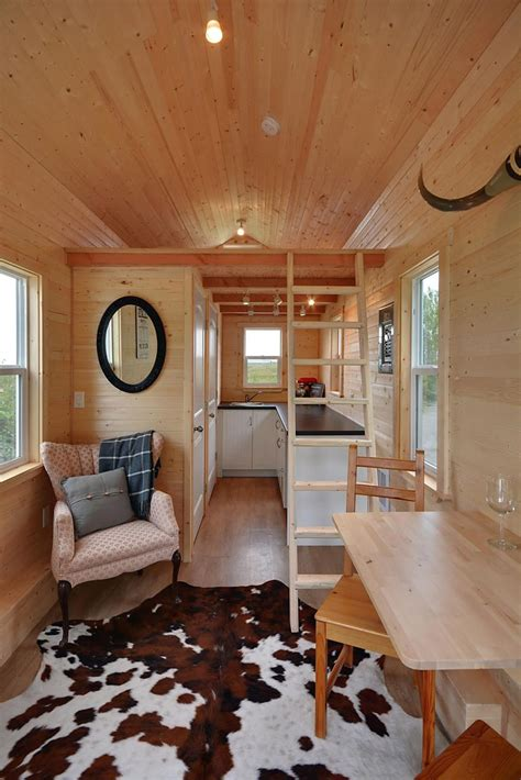 Tiny House Closet by Vancouver Builder Hits The With Their 160 Square