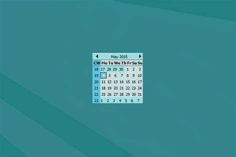 Calendar Widget Windows 10 Week Calendar Windows 10 Gadget Win10gadgets