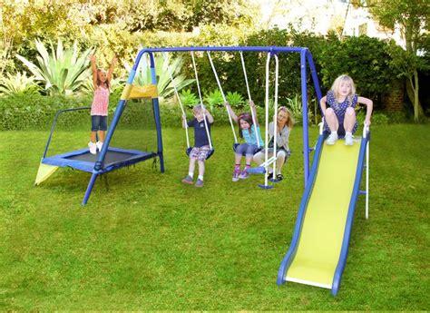 backyard swing sets metal best 25 metal swing sets ideas on pinterest plastic
