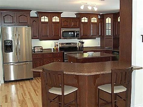 kitchens with breakfast bar designs kitchen breakfast bar ideas the kitchen design
