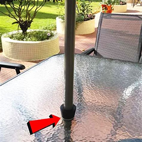 patio umbrella wedge myard patio umbrella pole cone wedge inner