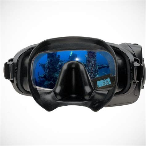 dive mask datamask hud computer dive mask by oceanic niiiice