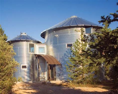 grain silo home plans architecture grain silo homes door brown prefab home kits