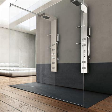 piatto doccia con cabina piatto doccia forma by hafro geromin 70 x 170 cm in