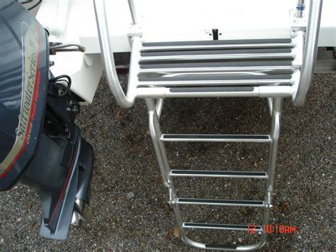 boat ladder with trim tabs ladders
