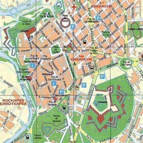 tripadvisor map map picture of yoldi hotel plona tripadvisor