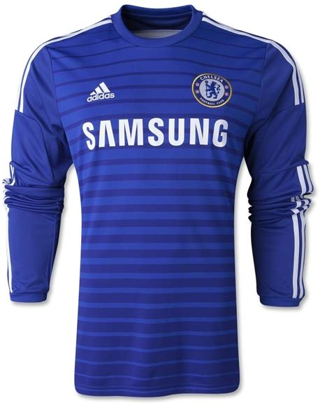 Jersey Grade Ori Chelsea Home 2 jersey chelsea home ls 2014 2015 big match jersey