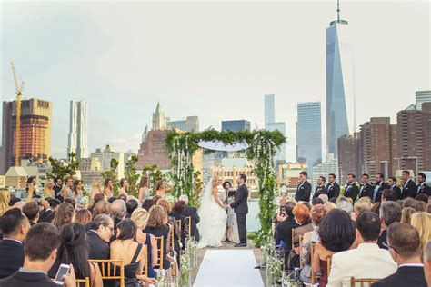 Wedding Venues Nyc by Tribeca Rooftop Wedding Ceremony Reception Venue