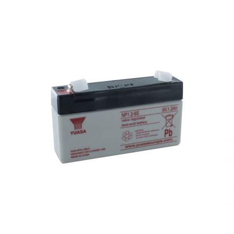 Batery Ups Yuasa Np 1 2 12 yuasa np1 2 6 rechargeable sealed lead acid sla battery