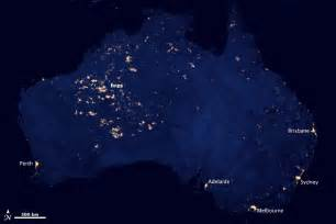 City lights of australia or not image of the day