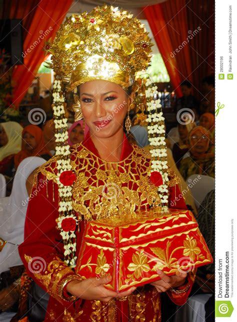 Wedding Clip Minang by Orang Minangkabau Editorial Photo Image 28002196