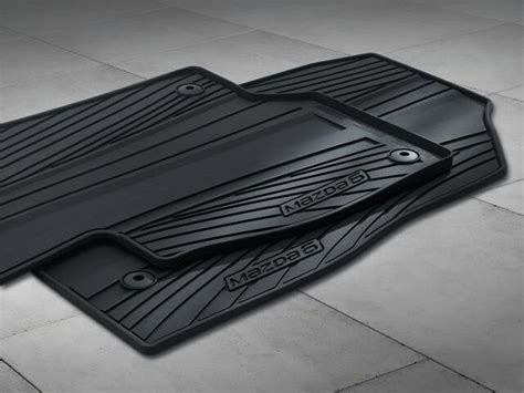 genuine oem   mazda winter rubber  season floor mats ebay