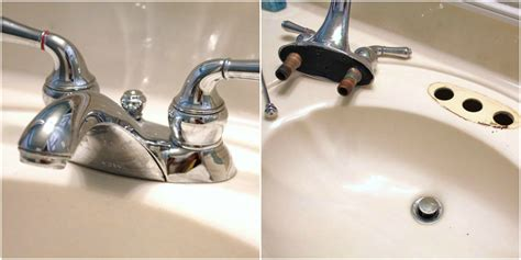 A Woman S Guide To Installing A Faucet Sand And Sisal Remove Bathroom Faucet