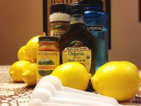Lemon Detox Diet Recipe by The Beyonce Lemon Detox Diet Recipe The Master Cleanse