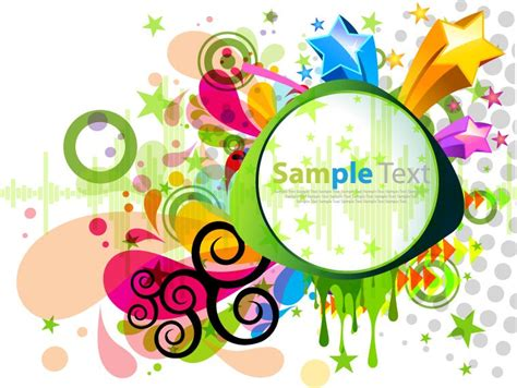 y design graphics abstract modern colorful design vector graphic free