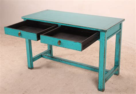 small desk with drawers small turquoise desk with drawers desks