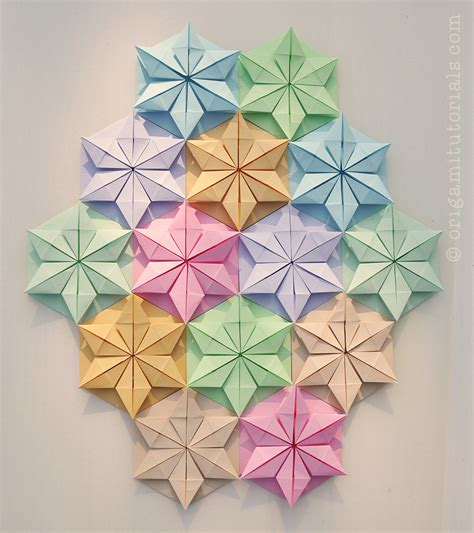 Origami Paper Flower Tutorial - related keywords suggestions for kusudama