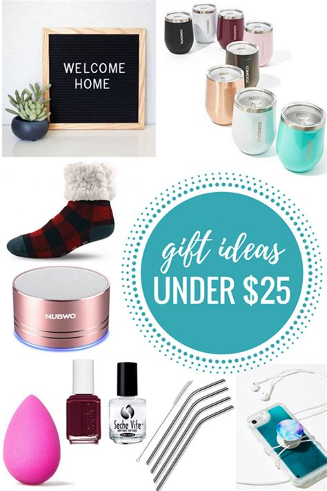 25 gift ideas gift ideas under 25 gift guide
