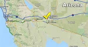 yuma arizona map state yuma az map pictures to pin on pinsdaddy