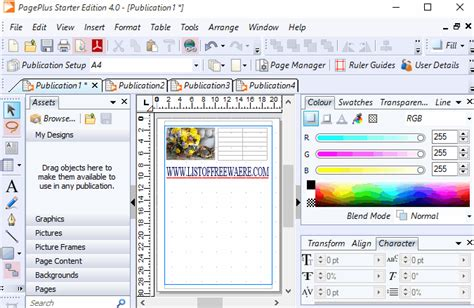 word publishing layout for pc 10 best free desktop publishing software for windows