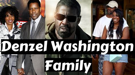 denzel washington and family actor denzel washington family photos with spouse