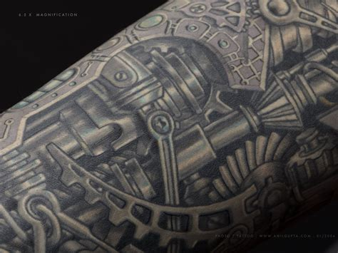 biomech tattoo designs mechanical images designs