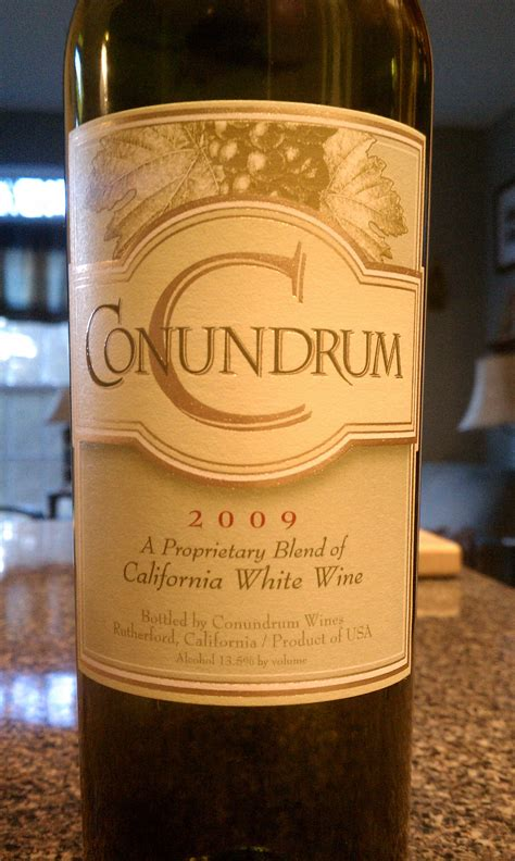 table wine conundrum white table wine 2009 the wine guru