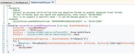 format date shell powershell datetime formatting the things i do