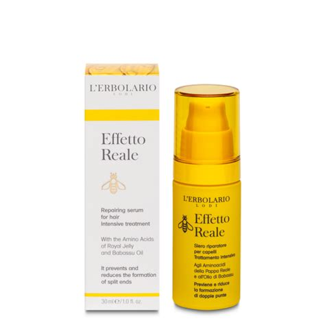Hair Is Fabric Intensive Detox by Repairing Serum For Hair Intensive Treatment Effetto Reale