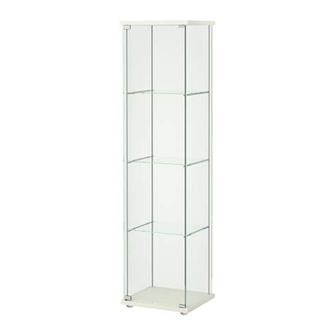 glass door cabinet detolf glass door cabinet white ikea