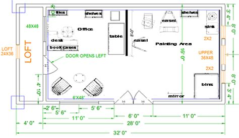 art studio floor plan artist studio plans google search casute mai noi
