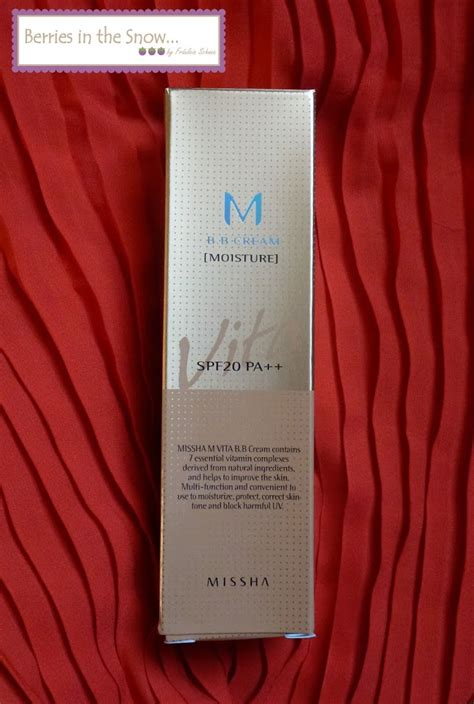 New Vit E Moist 50ml review missha vita m bb moisture sponsored