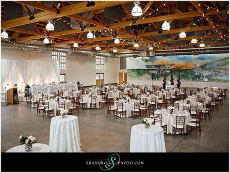 Beautiful wedding at #yeg Blatchford Air Hangar. Wedding
