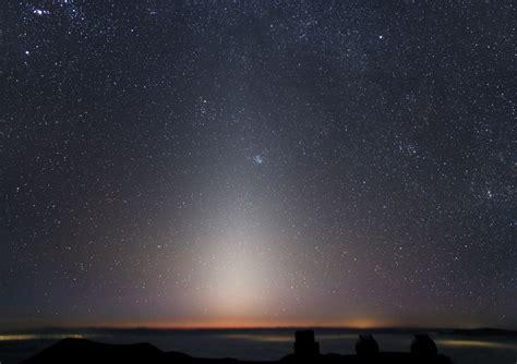guettez la lumi 232 re zodiacale apr 232 s le cr 233 puscule autour du ciel