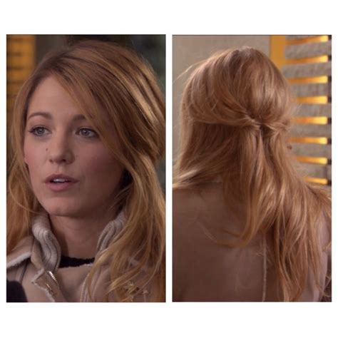 Serena Der Woodsen Hairstyles by 24 Best Images About Gg Hair On Chignons