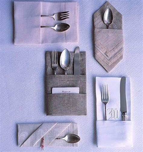 25 beautiful exles of napkin folding and you